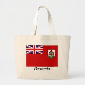 Flag Of Bermuda Canvas Tote Bag
