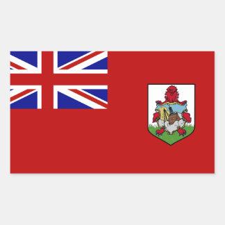 Flag of Bermuda Rectangular Sticker