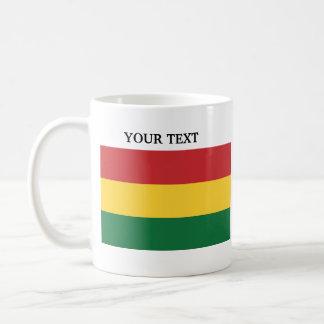 Flag of Bolivia Basic White Mug