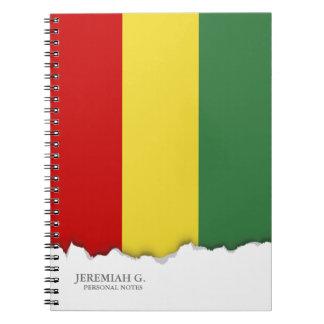 Flag of Bolivia Notebooks