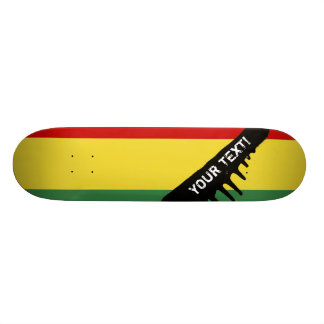Flag of Bolivia Skate Deck