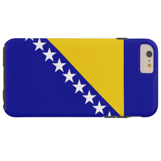 Flag of Bosnia Herzegovina Tough iPhone 6 Plus Case