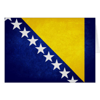 Flag of Bosnia Note Card
