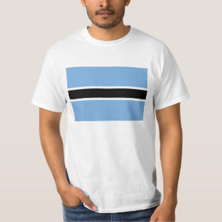 Flag of Botswana - Folaga ya Botswana T-Shirt