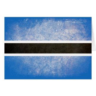 Flag of Botswana Note Card