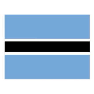 Flag of Botswana Postcard