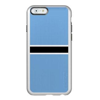 Flag of Botswana Silver iPhone Case Incipio Feather® Shine iPhone 6 Case