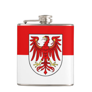 Flag of Brandenburg Hip Flask