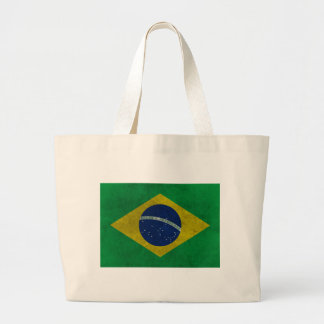 Flag of Brazil (Aged Style) Bags