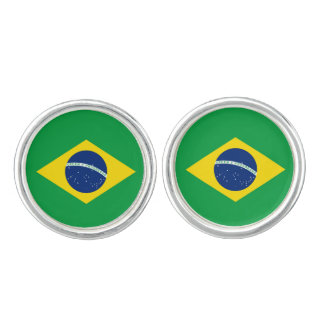 Flag of Brazil Cufflinks