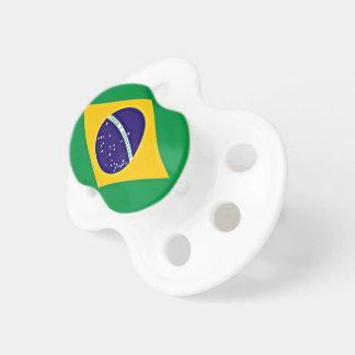 Flag of Brazil custom-designed pacifier