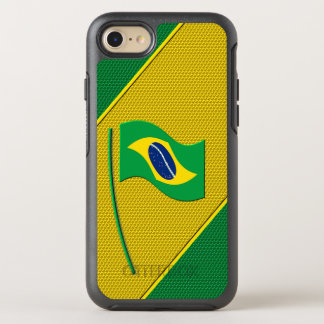 Flag of Brazil OtterBox Symmetry iPhone 8/7 Case