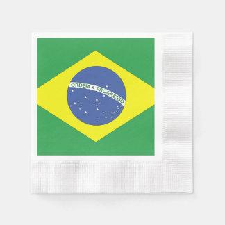Flag of Brazil Paper Napkins