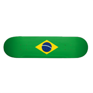 Flag of Brazil Skateboard Deck
