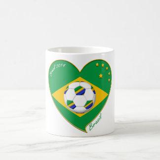 Flag of BRAZIL SOCCER of the world national team Coffee Mug