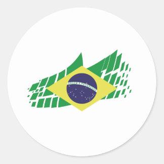 Flag of Brazil style