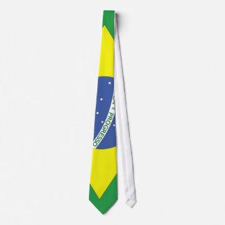 Flag of Brazil Tie