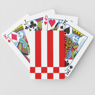 Flag of Bremen Bicycle Playing Cards