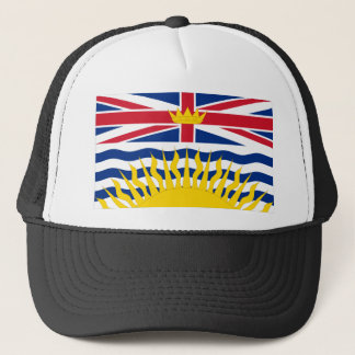 Flag of British Columbia, Canada Trucker Hat