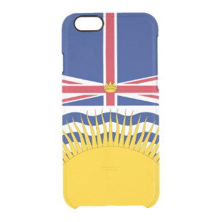 Flag of British Columbia Clear iPhone Case