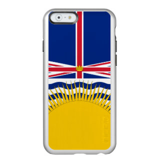 Flag of British Columbia Silver iPhone Case Incipio Feather® Shine iPhone 6 Case