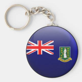 Flag of British Virgin Islands Keychain