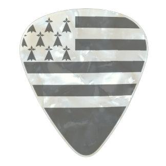 Flag of Brittany Guitar Picks