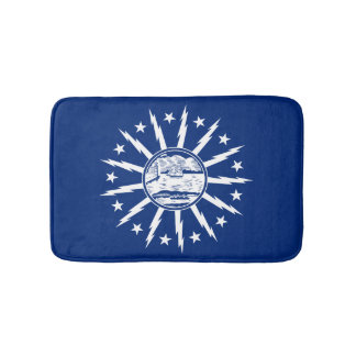 Flag of Buffalo, New York Bath Mat