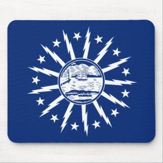 Flag of Buffalo, New York Mouse Pad