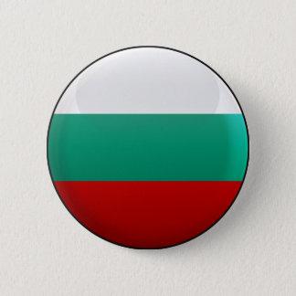 Flag of Bulgaria 6 Cm Round Badge