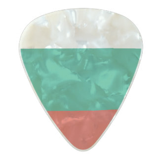 Flag of Bulgaria Guitar Picks Pearl Celluloid Guitar Pick