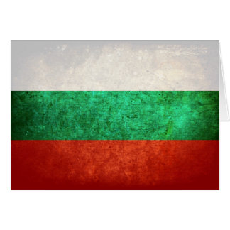 Flag of Bulgaria Note Card