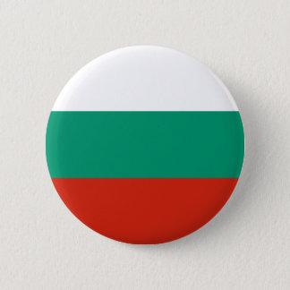 Flag of Bulgaria or Bulgarian 6 Cm Round Badge