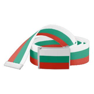 Flag of Bulgaria or Bulgarian Belt
