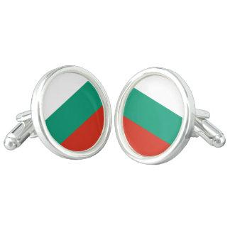 Flag of Bulgaria or Bulgarian Cuff Links