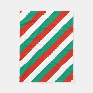 Flag of Bulgaria or Bulgarian Fleece Blanket