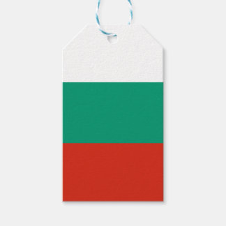 Flag of Bulgaria or Bulgarian Gift Tags