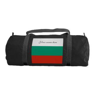 Flag of Bulgaria or Bulgarian Gym Bag