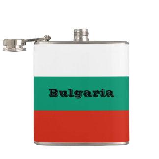 Flag of Bulgaria or Bulgarian Hip Flask