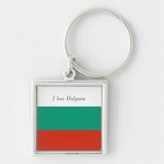 Flag of Bulgaria or Bulgarian Key Ring