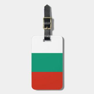 Flag of Bulgaria or Bulgarian Luggage Tag