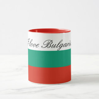 Flag of Bulgaria or Bulgarian Mug