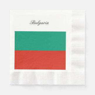 Flag of Bulgaria or Bulgarian Paper Napkins