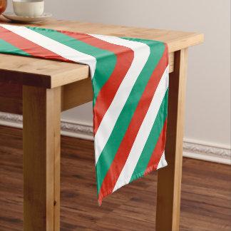 Flag of Bulgaria or Bulgarian Short Table Runner