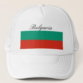 Flag of Bulgaria or Bulgarian Trucker Hat