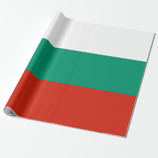 Flag of Bulgaria or Bulgarian Wrapping Paper