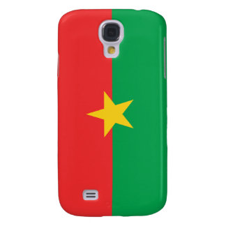 Flag of Burkina Faso Samsung Galaxy S4 Cover