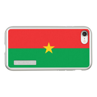 Flag of Burkina Faso Silver iPhone Case