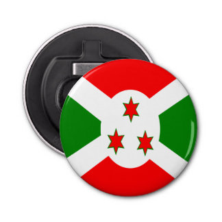 Flag of Burundi Bottle Opener
