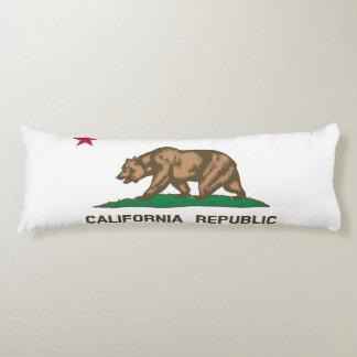 Flag of California Republic Body Pillow